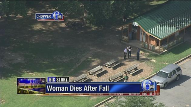 Woman killed in fall from zip line