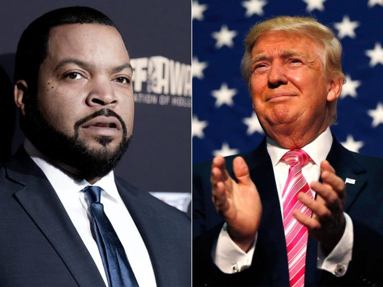 Ice Cube sends angry tweet saying he would 'never endorse a motherf—a like Donald Trump'