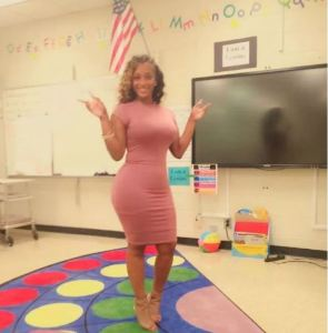 'hot' 4th grade teacher causing a distraction in the classroom