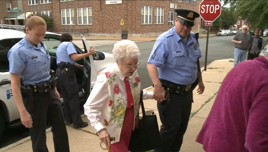 102-year-old Woman Crosses 'arrest' Off Her Bucket List