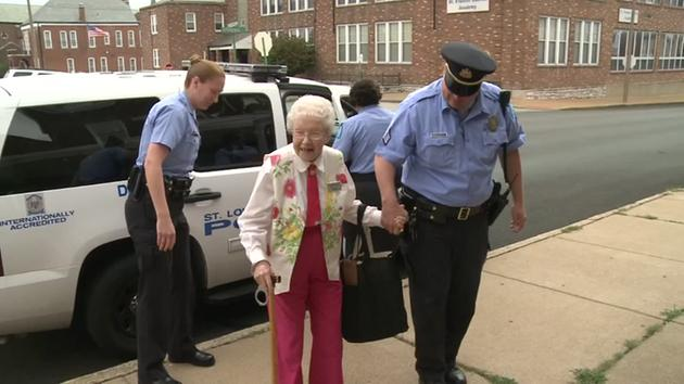 102-year-old Woman Crosses 'arrest' Off Her Bucket List