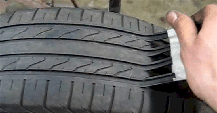 Scam Artists Make Old Tires That Are Unsafe Look Like New
