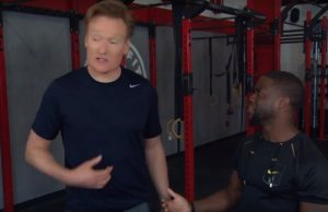 KEVIN HART AND CONAN O'BRIEN DOING CROSSFIT TOGETHER IS HILARIOUS
