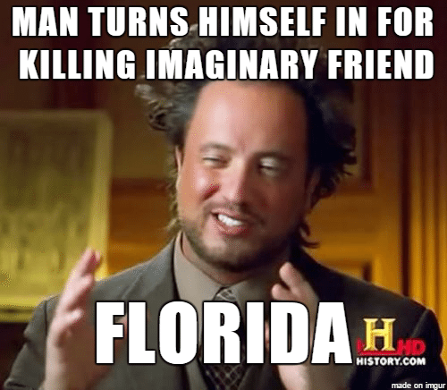 Man high on drugs claims he killed imaginary friend