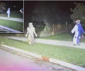 Parents Left 4-Year-Old Alone To Terrorize Neighborhood While Dressed As Clowns