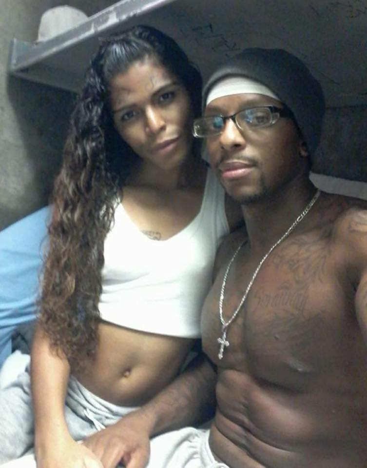 Prison Inmate shows Off His Beautiful Girlfriend In His Cell