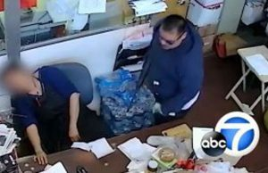 Robbers Knocked Woman Out Cold