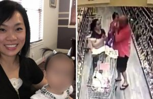 Stranger Tries to Grab Baby in Supermarket When Mom Isn't Looking