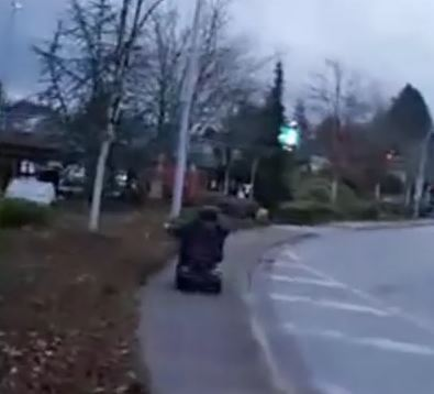 Disabled Pedophile Gets Hit By Car After Running from Vigilante Group
