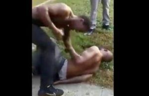 Man Beats 2 Dudes After They fucked His Little Sister In An Alley