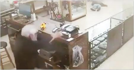 Robber Instantly Killed After Deciding To Rob Gun Store