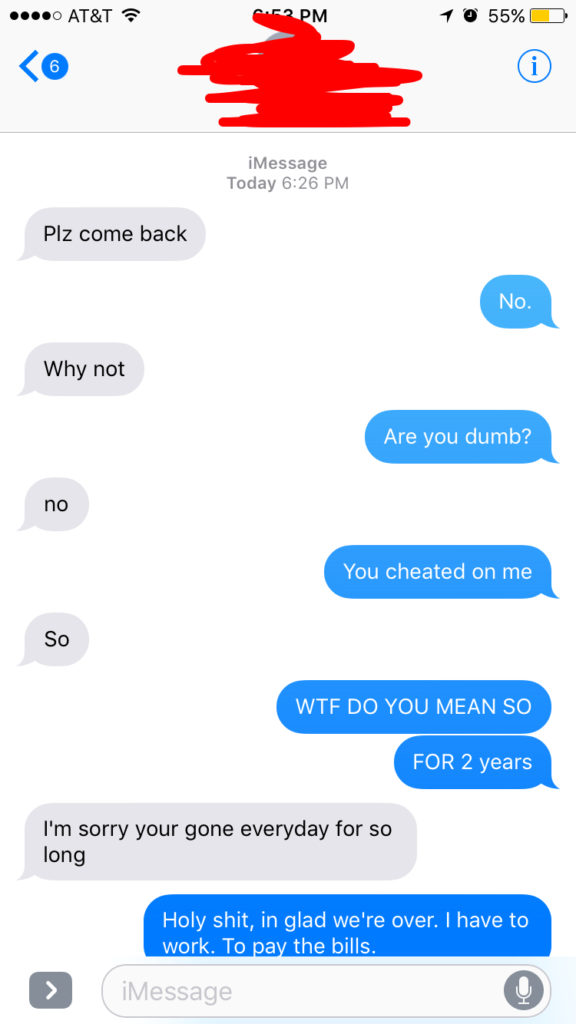 Guy Finds Out Girl Has Been Cheating On Him In The Worst Way Possible