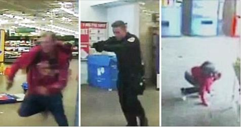 Walmart Shooter Gunned Down After Firing at Police