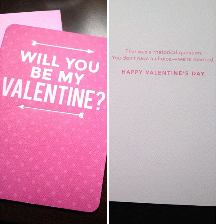 honest valentines day cards