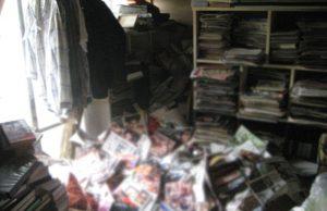 Man dies under his porn magazines
