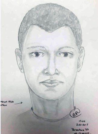 rapist who ran away