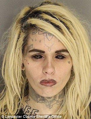 tattooed eyeball girl