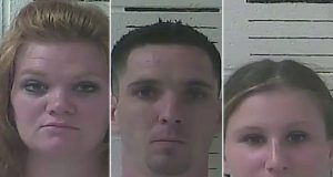 threesome accused of having sex