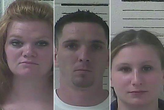 threesome accused of having sex