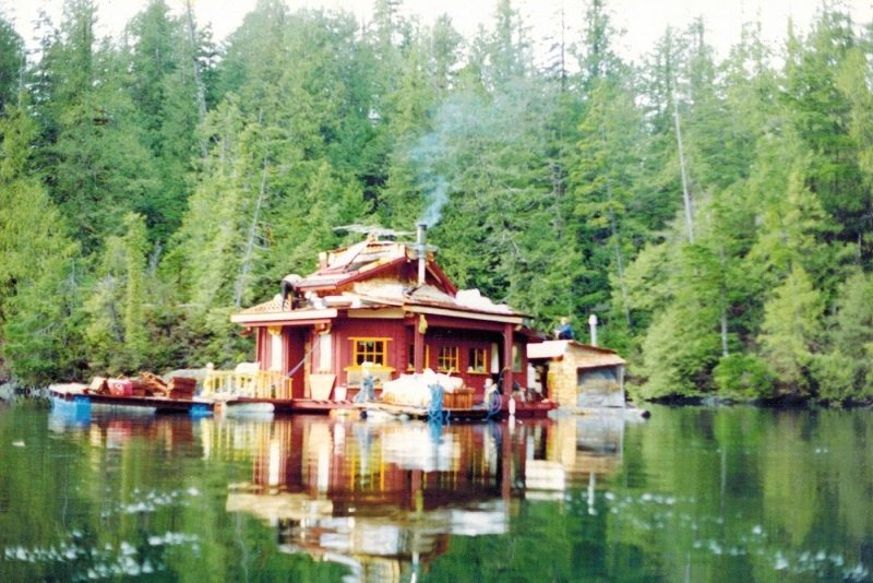 Floating Island Home in Canada