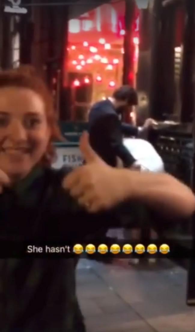 drunk couple having sex in london