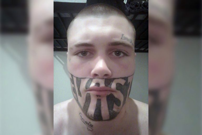 Teen says tattoo covering half his face is making it hard to find work