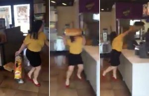 taco bell fight