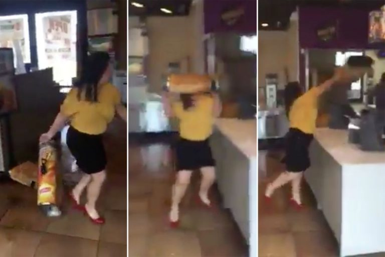 Video Captures Wild Blowout Between Ex-Worker and Manager at Taco Bell