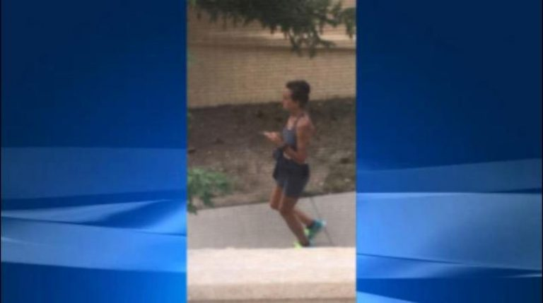 Jogger won't stop pooping on family's lawn
